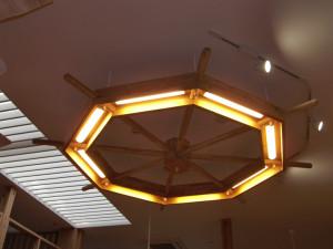 舵型天井ライト