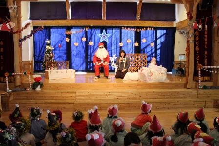 クリスマス会(中央)